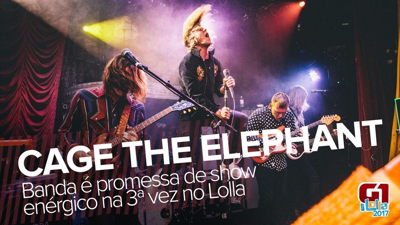 Cage the Elephant: saiba como vai ser o show do grupo no Lollapalooza 2017