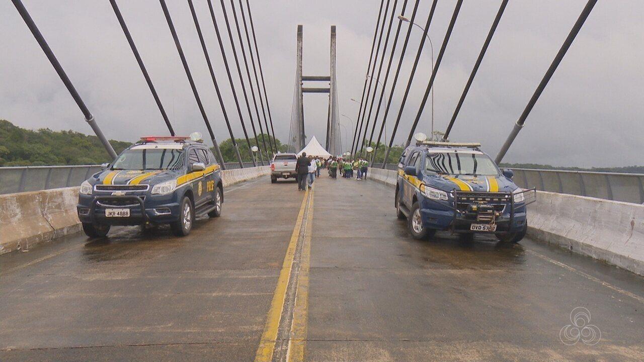 Ponte que liga Amapá a Guiana Francesa é inaugurada