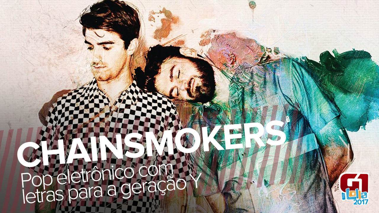 Chainsmokers leva pop eletrônico para fechar noite do Lollapalooza