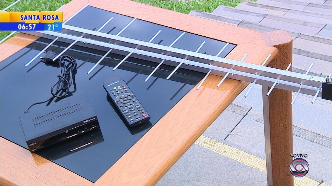 Famílias de baixa renda vão receber kit gratuito de TV digital