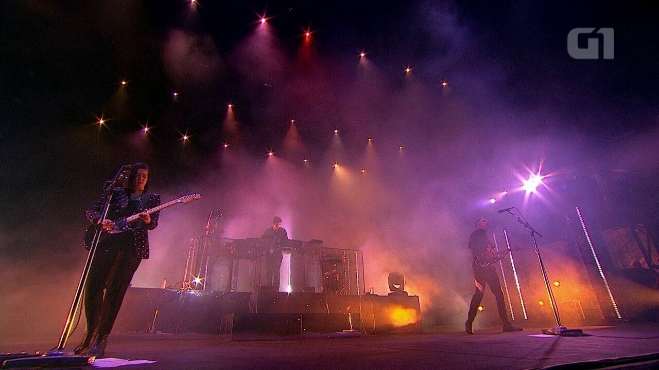 "Confira música ""Say something loving"", da banda The XX, no Lollapalooza"