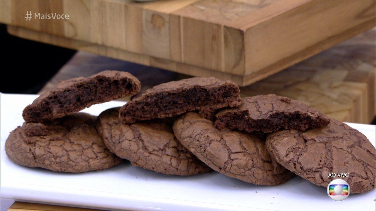 Cookie de Brownie do 'Mais Você'