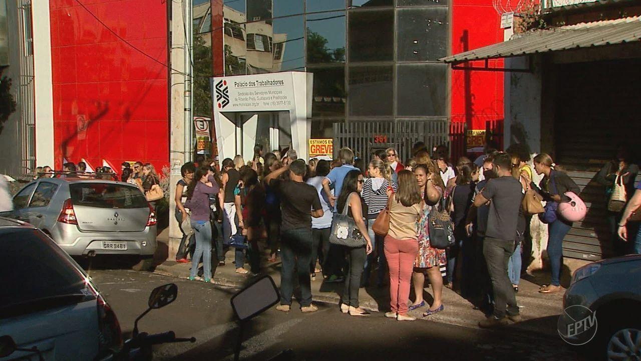 Greve dos servidores afeta 70% da saúde e educação em Ribeirão Preto, diz sindicato