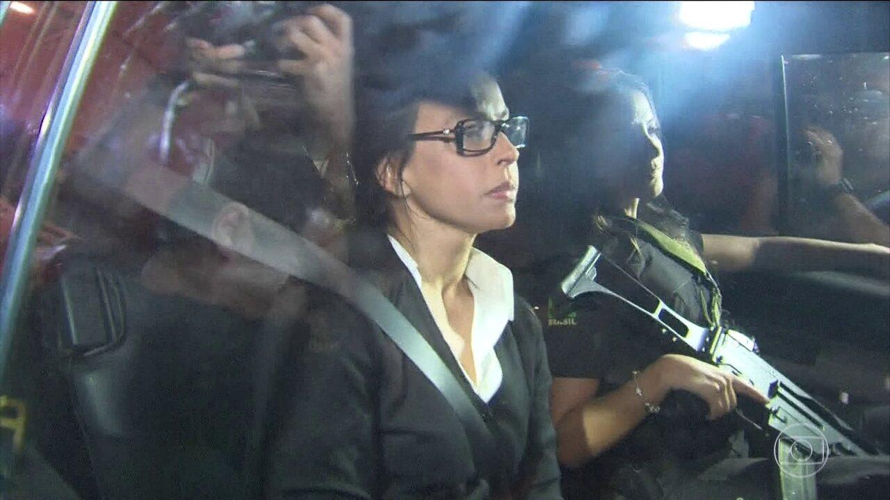 Adriana Ancelmo já cumpre prisão domiciliar no Rio de Janeiro