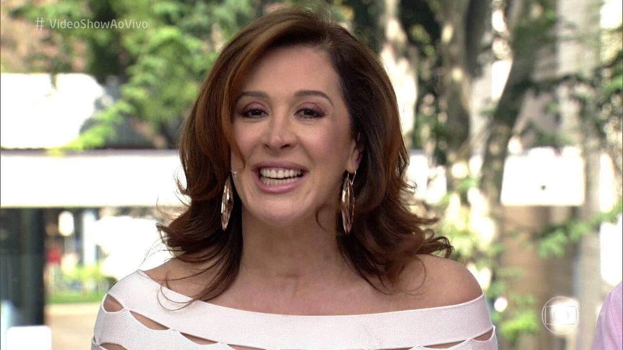 Claudia Raia revisita carreira no 'Meu Vídeo é Um Show'