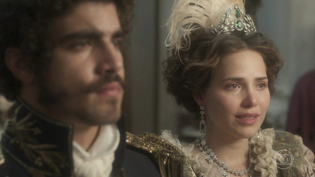 Leopoldina e Pedro se casam no Rio de Janeiro
