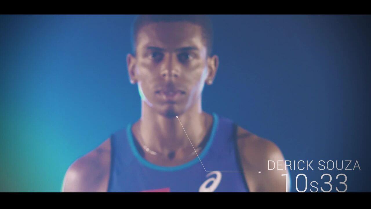 10 Segundos - A grande barreira: Derick Souza e o desafio de correr 100m em 10 segundos