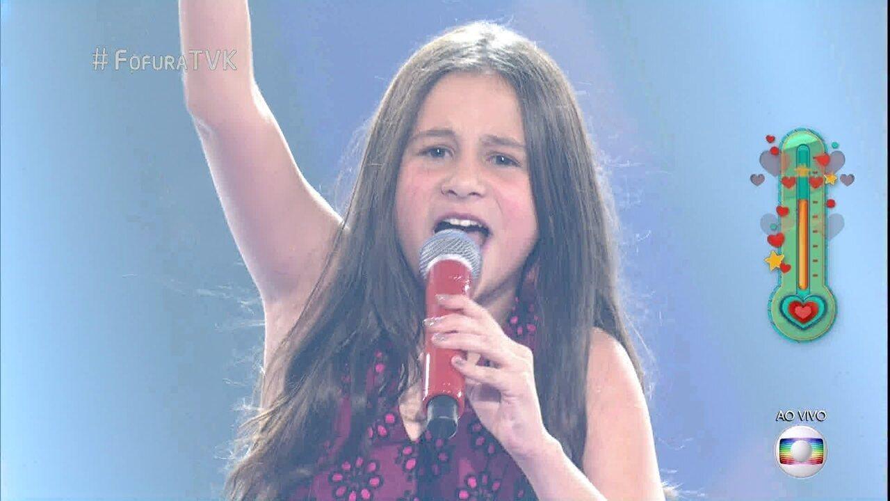 Valentina Francisco canta 'Livin' On a Prayer'