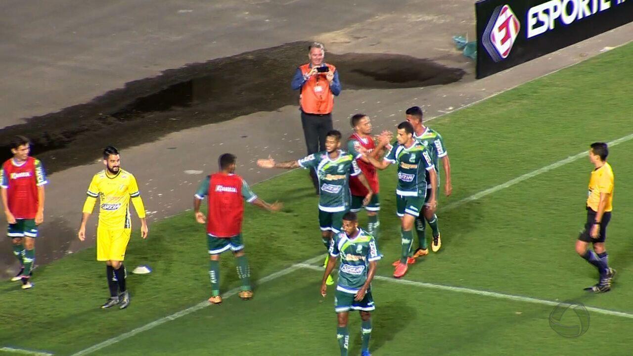 Luverdense empata com o Rio Branco-ES e está na semifinal da Copa Verde