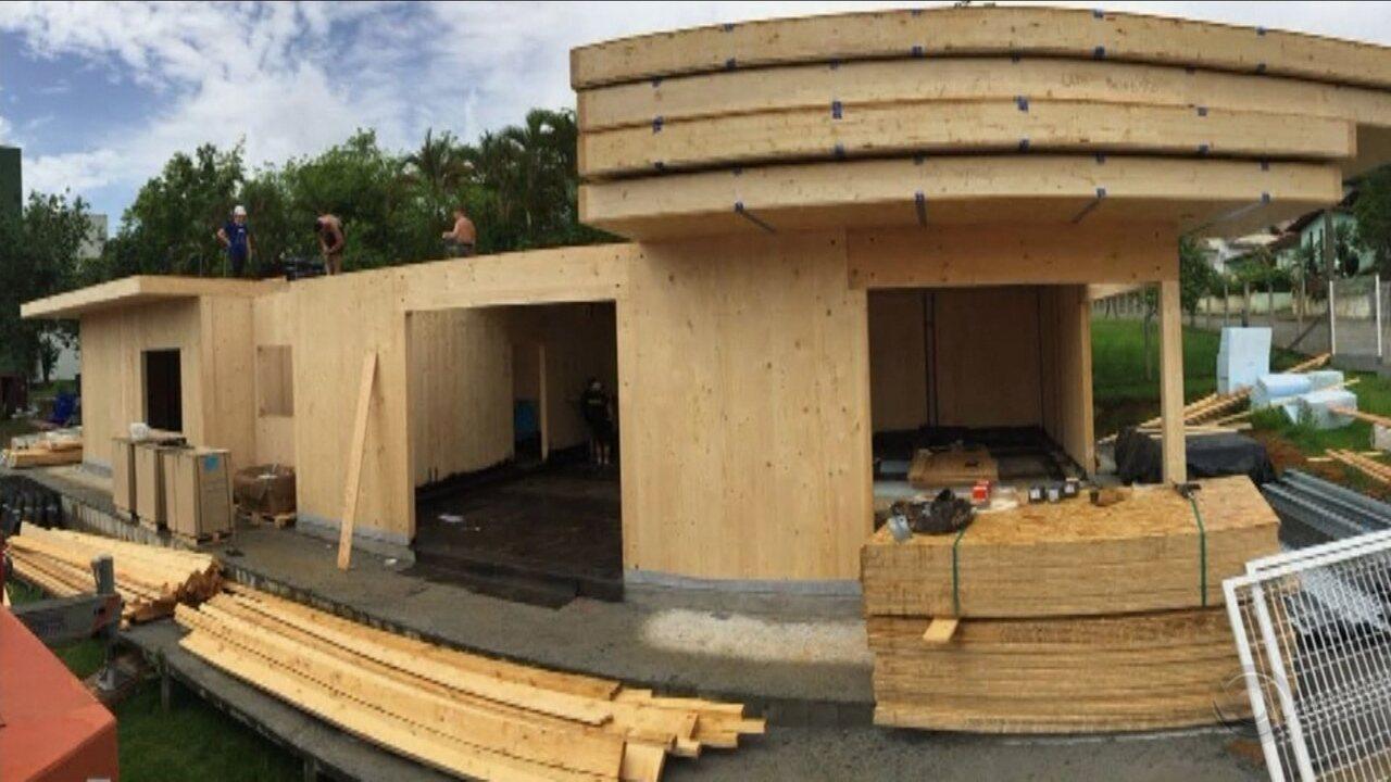 Projeto constrói e inaugura casa 100% sustentável em cidade catarinense