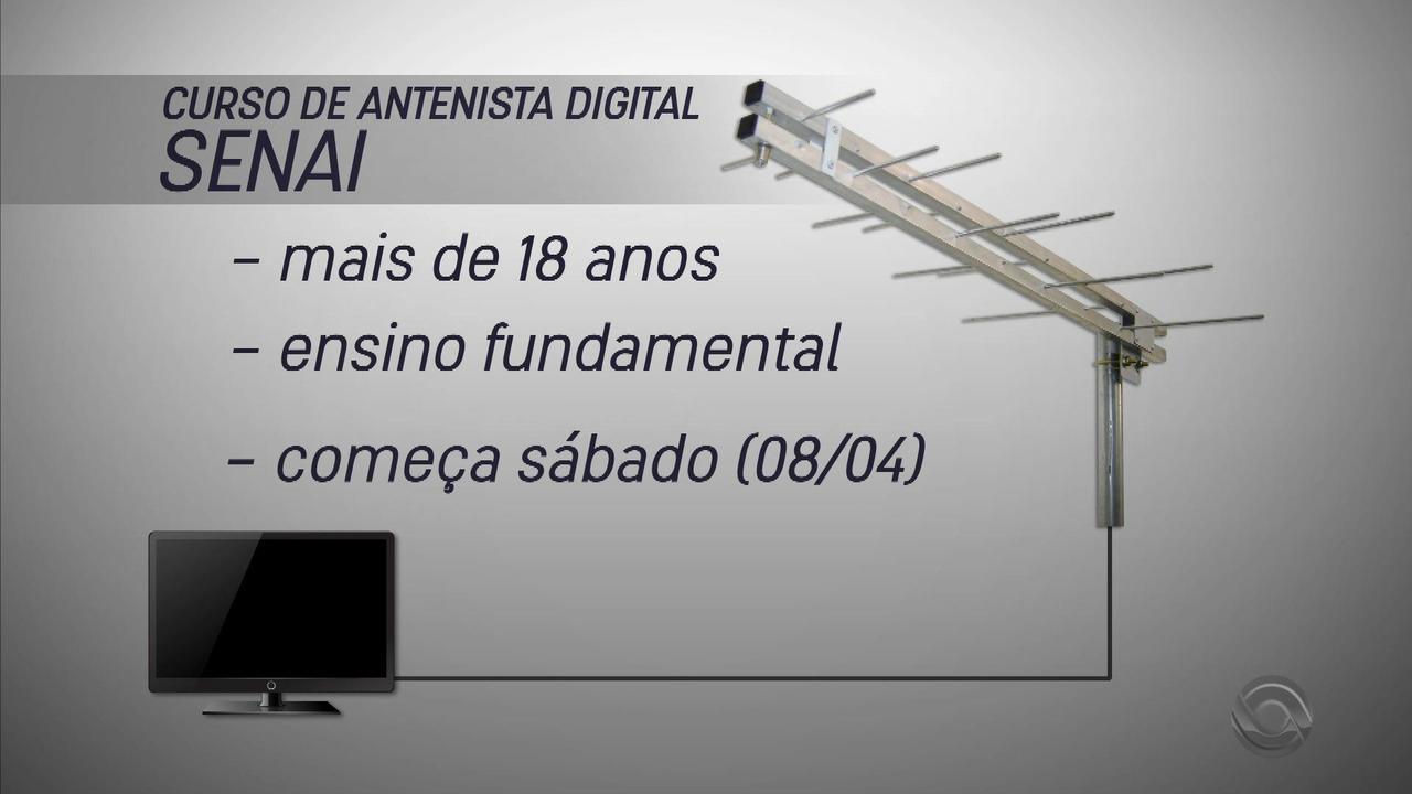 Curso de antenista digital é oferecido em Porto Alegre; saiba como participar