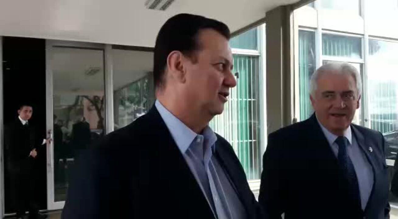 Ministro Gilberto Kassab fala sobre possibilidade de intervenção da Anatel na Oi