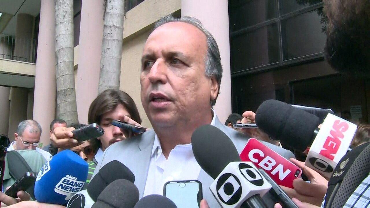 Pezão fala que vai processar delator que o acusou de receber propina