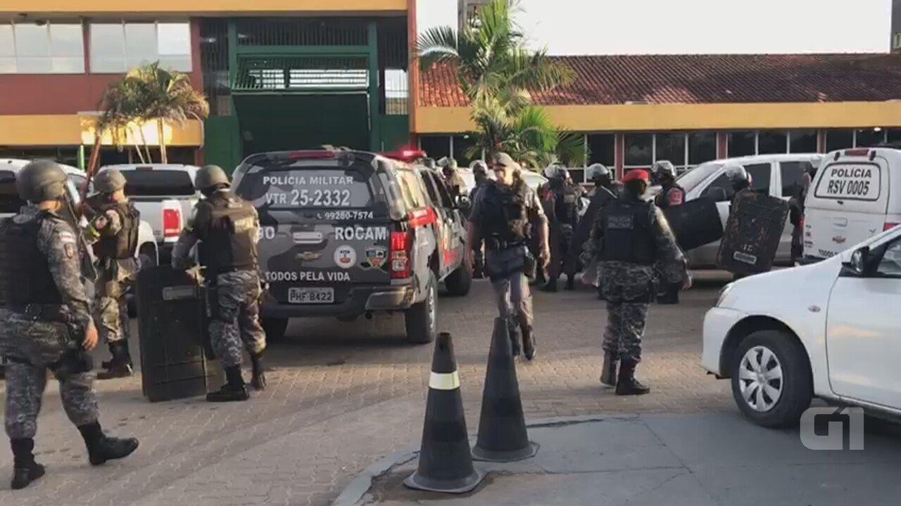 Polícia entra em presídio após mortes na UPP, em Manaus