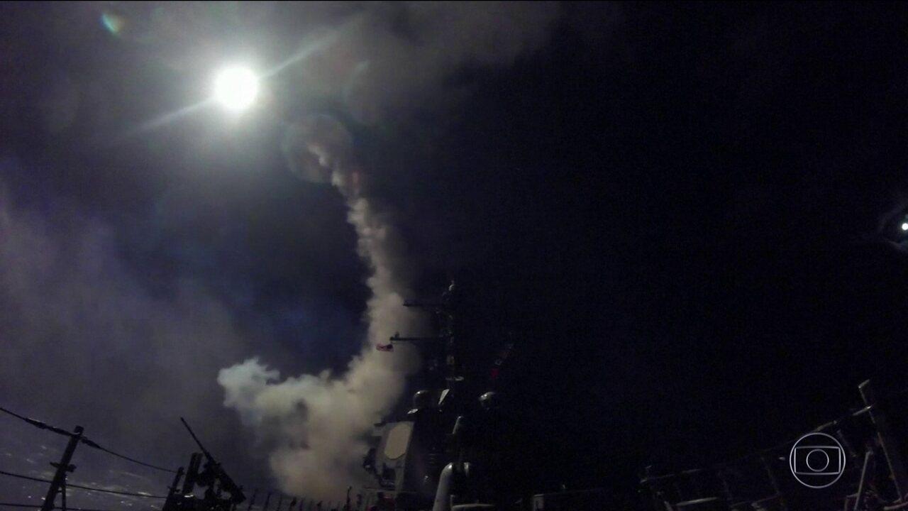 Bombardeio atinge cidade da Síria que foi alvo de armas químicas