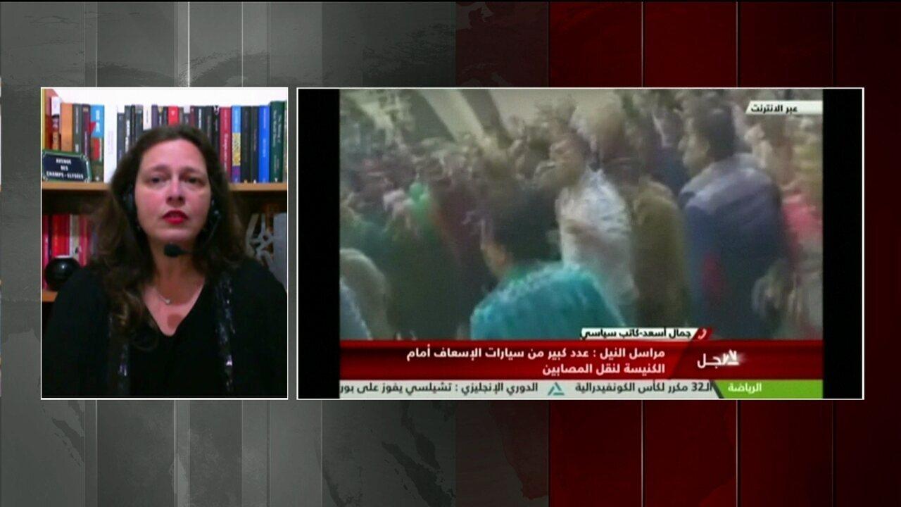 Ataques contra igrejas cristãs no Egito deixam mais de 30 mortos