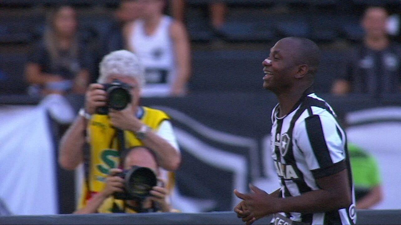 Veja os cinco gols de Sassá elo Botafogo em 2017