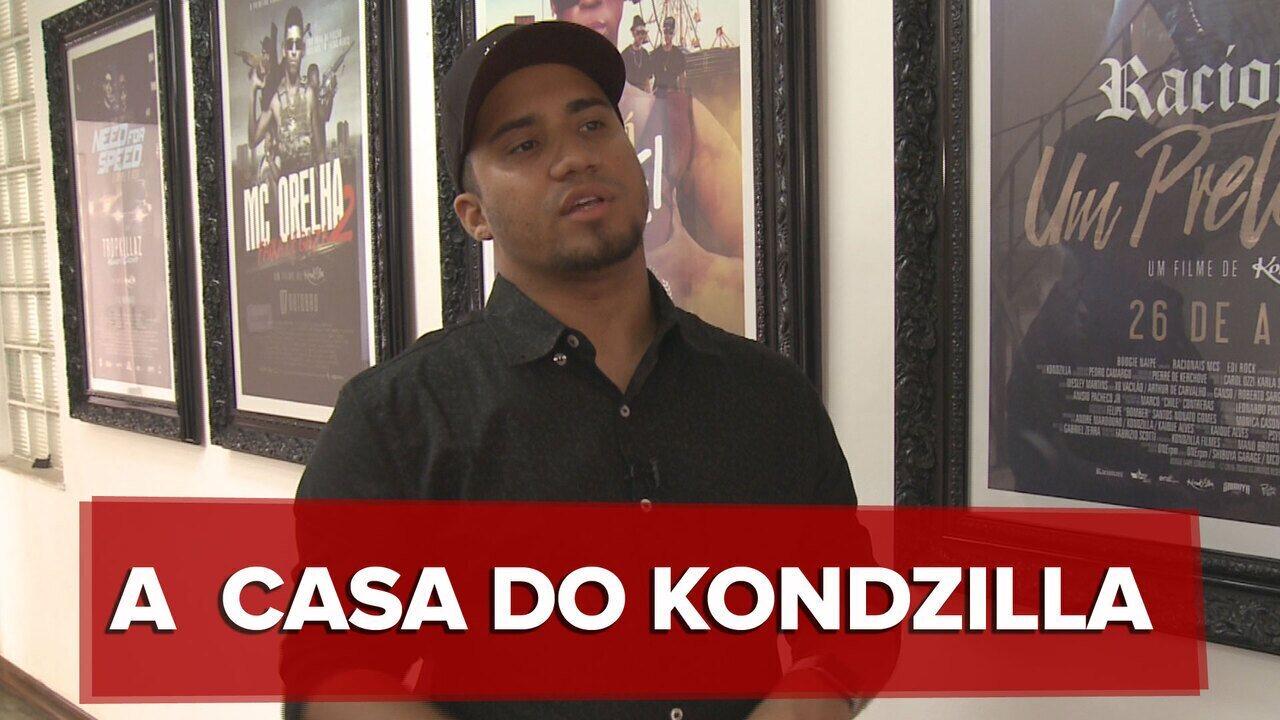 Conheça a casa de Kondzilla