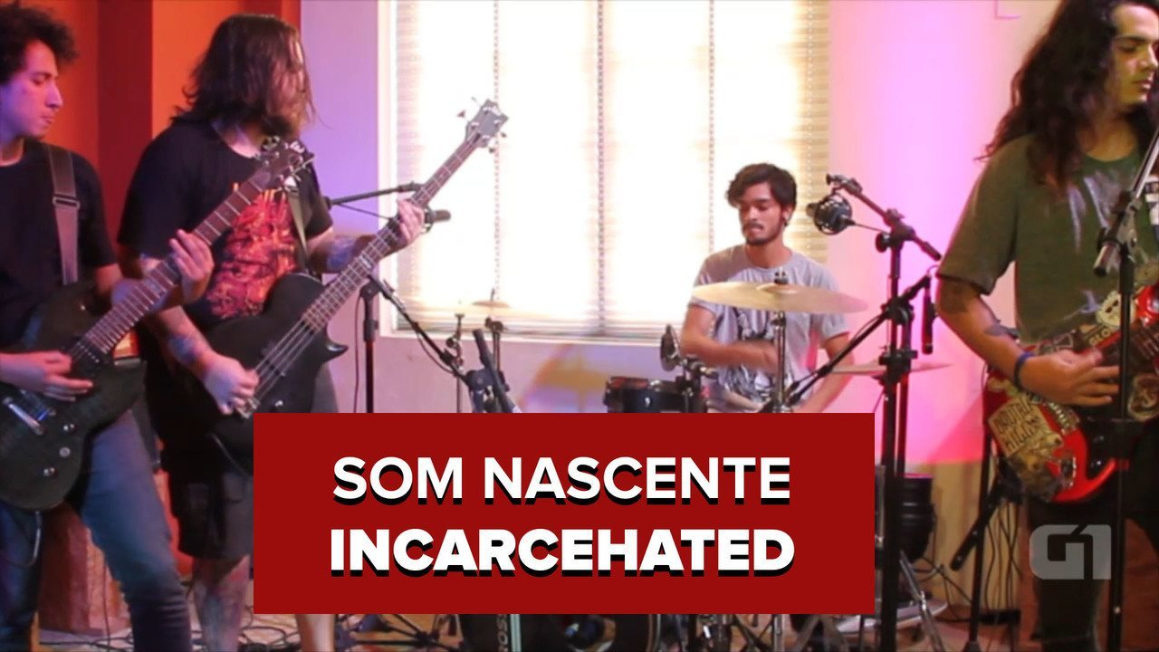 Incarcehated toca thrash metal independente no sexto episódio do programa 'Som Nascente'