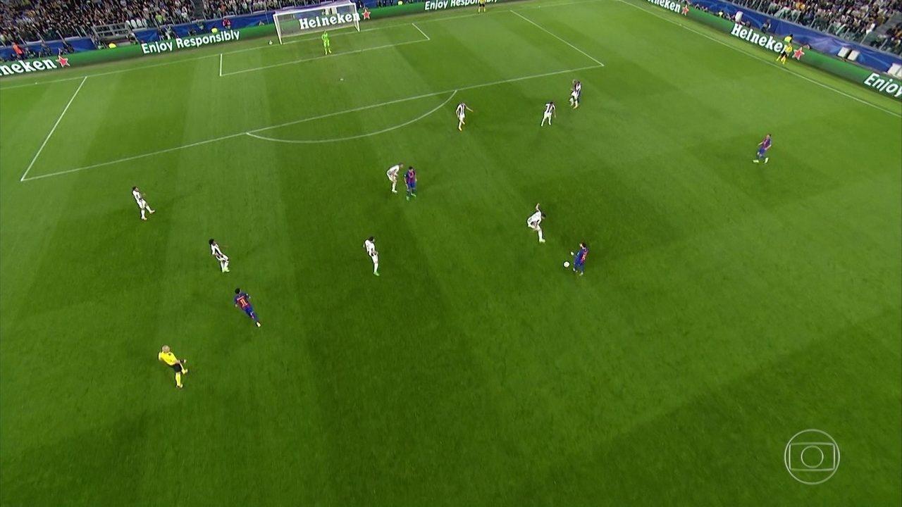 Melhores momentos de Juventus 3 x 0 Barcelona pela semifinal da Liga dos Campeões