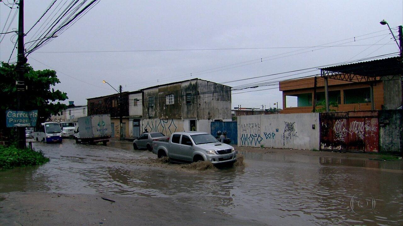 Apac prevê chuvas para o feriado da Semana Santa no litoral do Grande Recife
