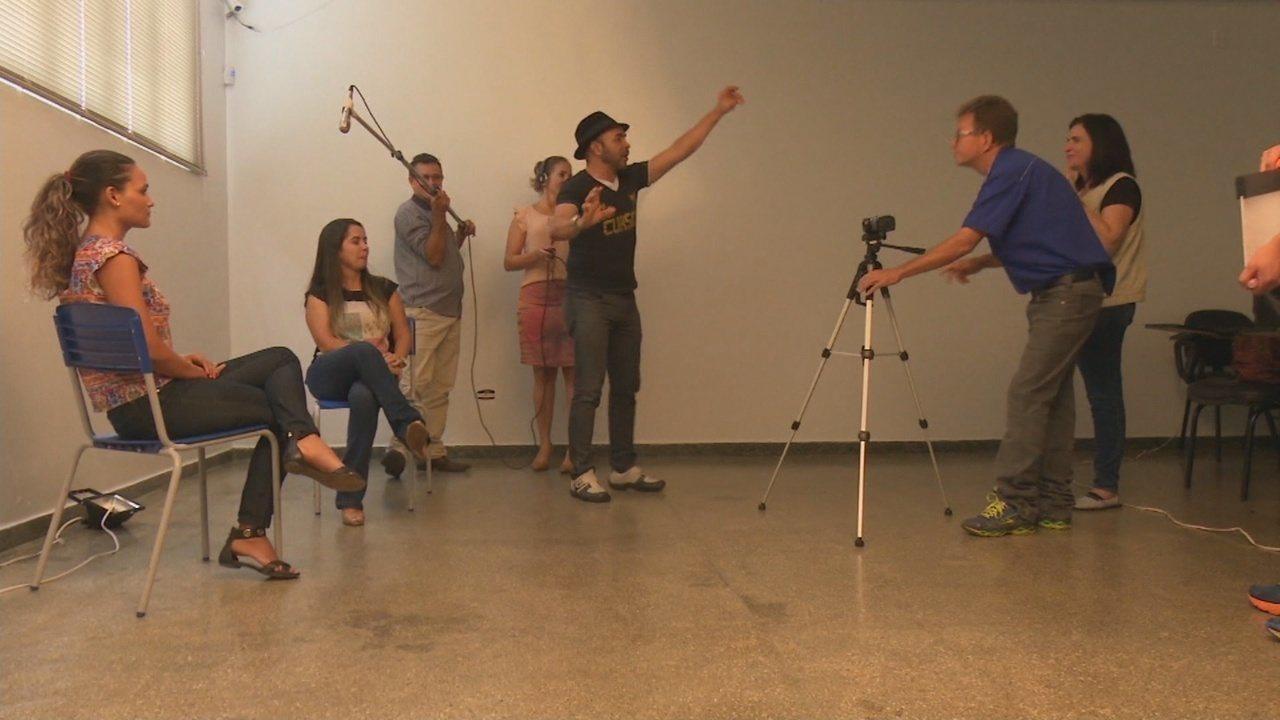 Professores da rede pública aprendem sobre produção de cinema