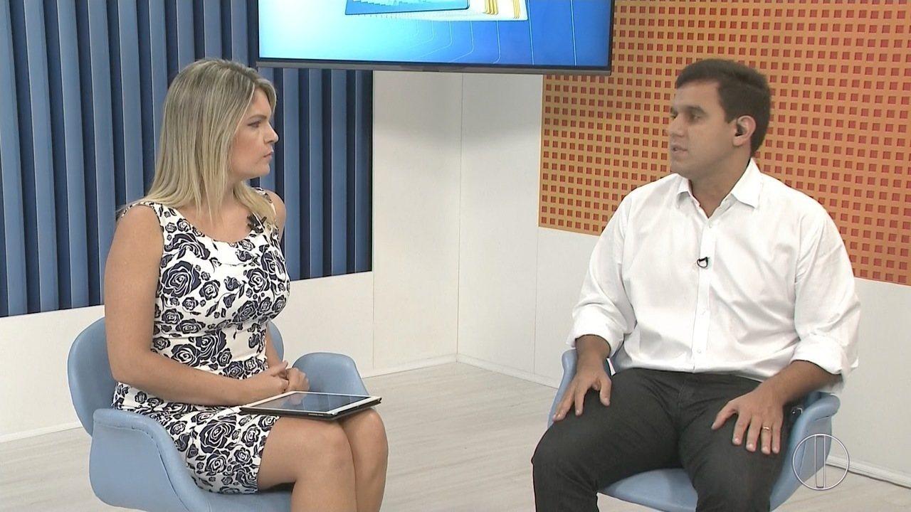 RJ InterTV realiza entrevista com Rafael Diniz, prefeito de Campos, no RJ