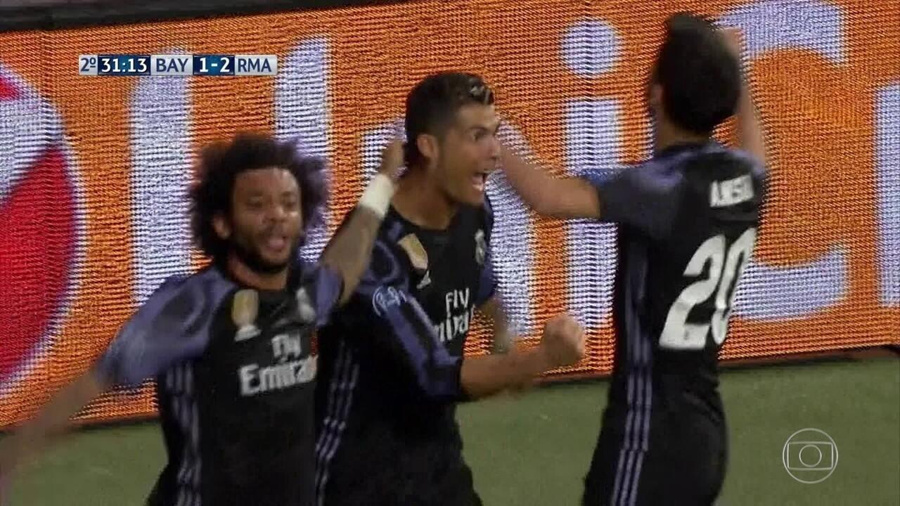 Confira os gols de Bayern de Munique 1 x 2 Real Madrid