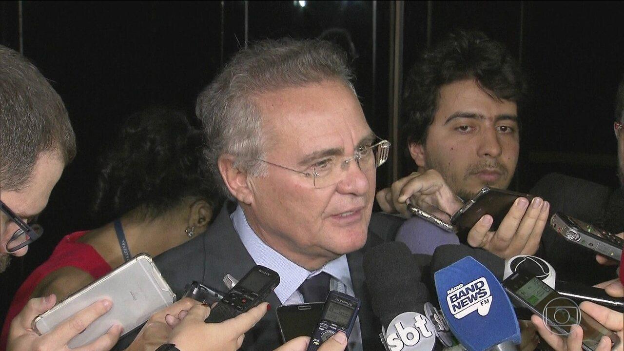 Renan é suspeito de receber propina da Odebrecht para aprovar MPs