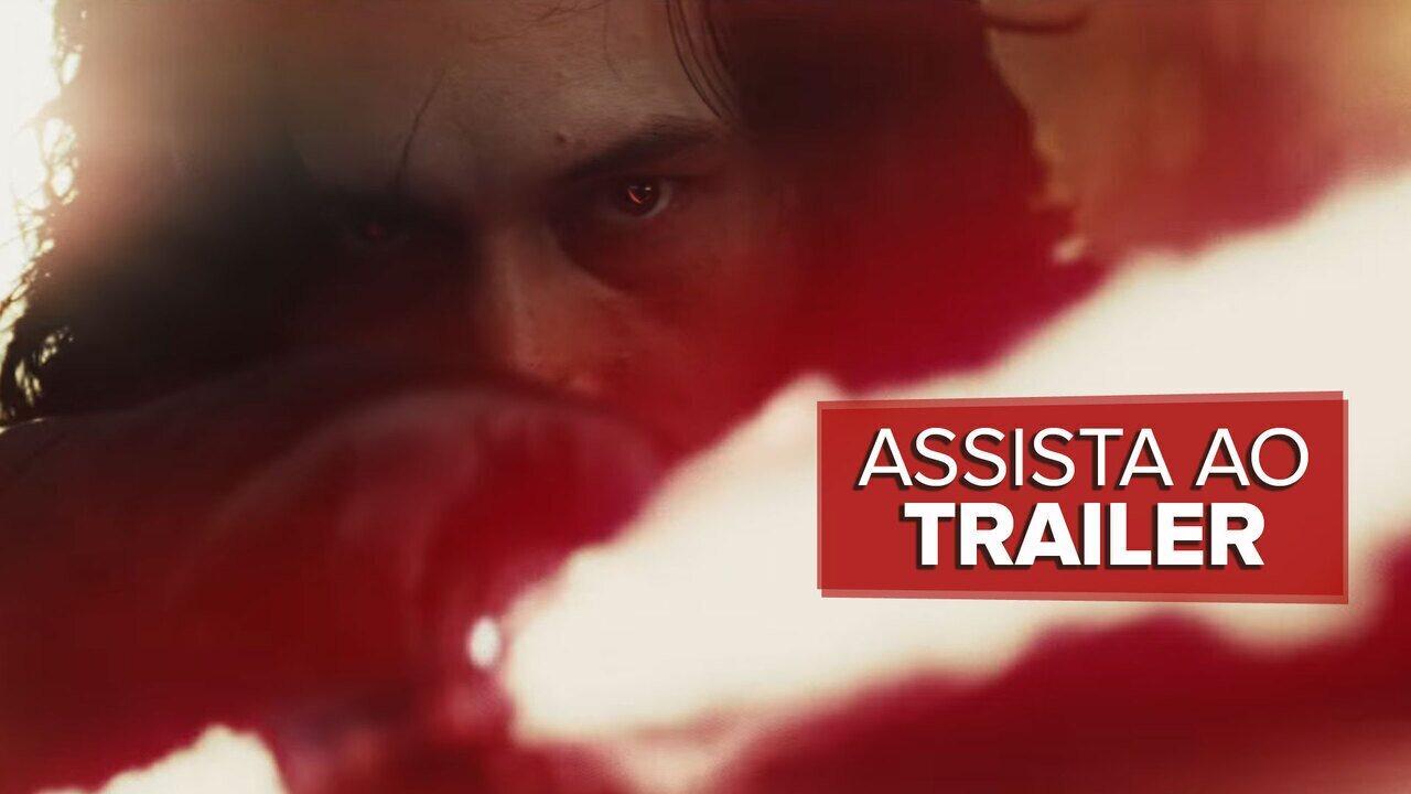 'Star Wars: Os últimos Jedi' ganha primeiro teaser
