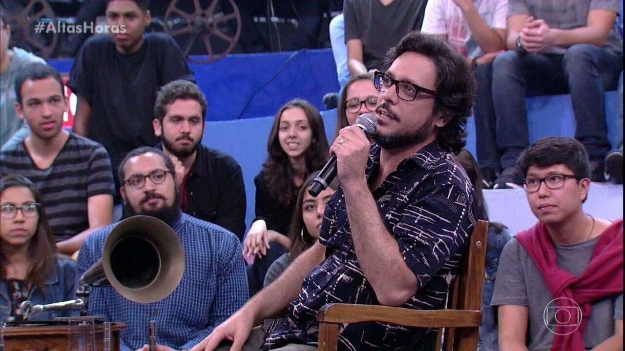Lúcio Mauro explica seu nome artístico