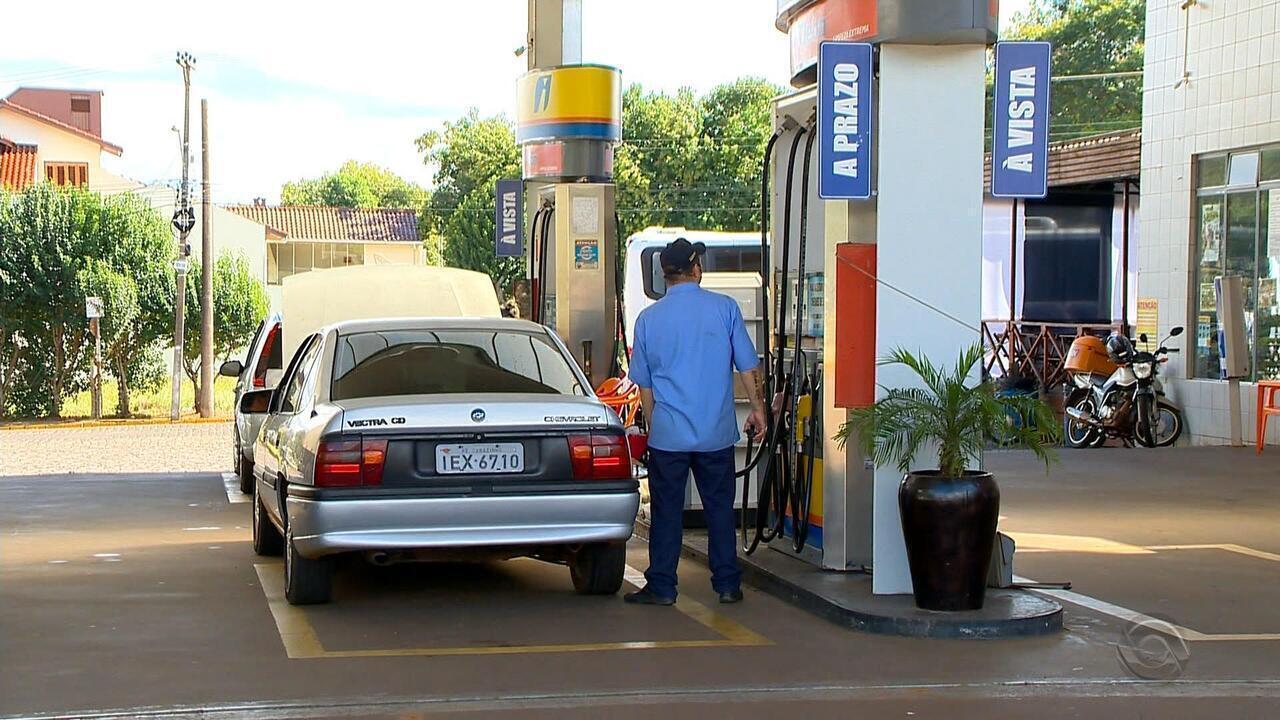 Postos de combustíveis de cidades do Norte do RS atraem motoristas de municípios vizinhos