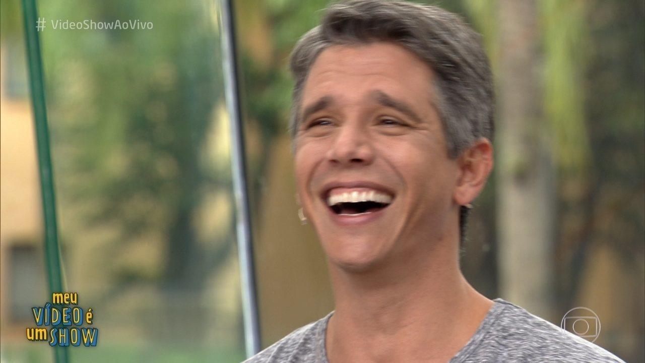 Márcio Garcia revisita carreira no 'Meu Vídeo é um Show'