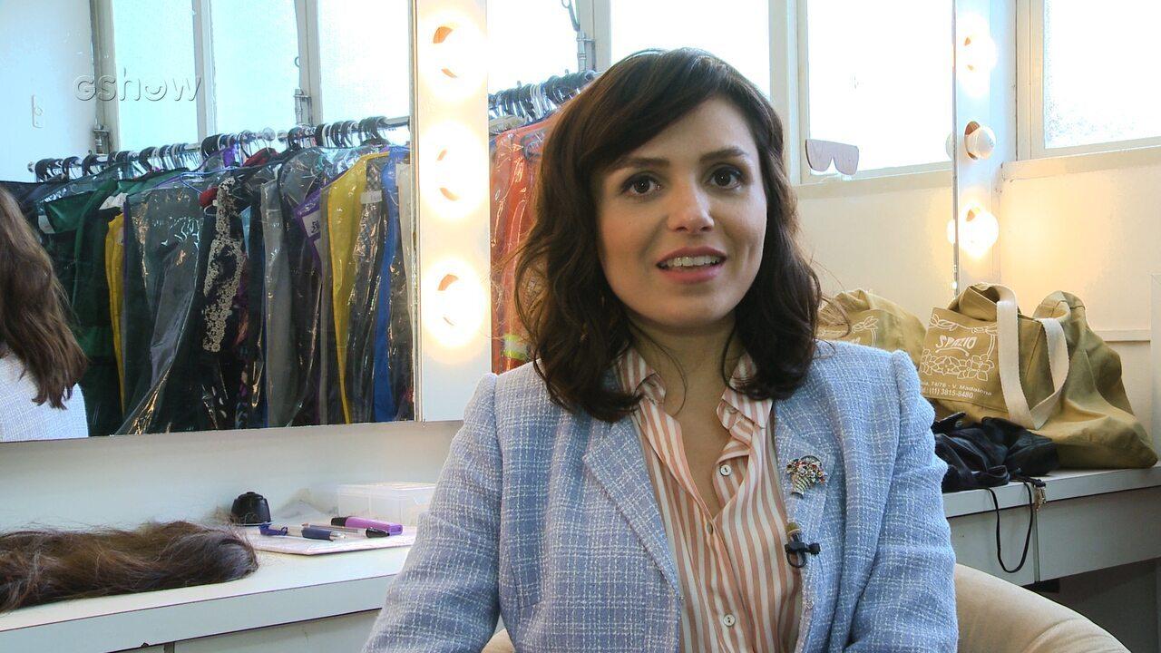 Monica Iozzi fala de sua personagem em 'Vade Retro' e elogia Tony Ramos