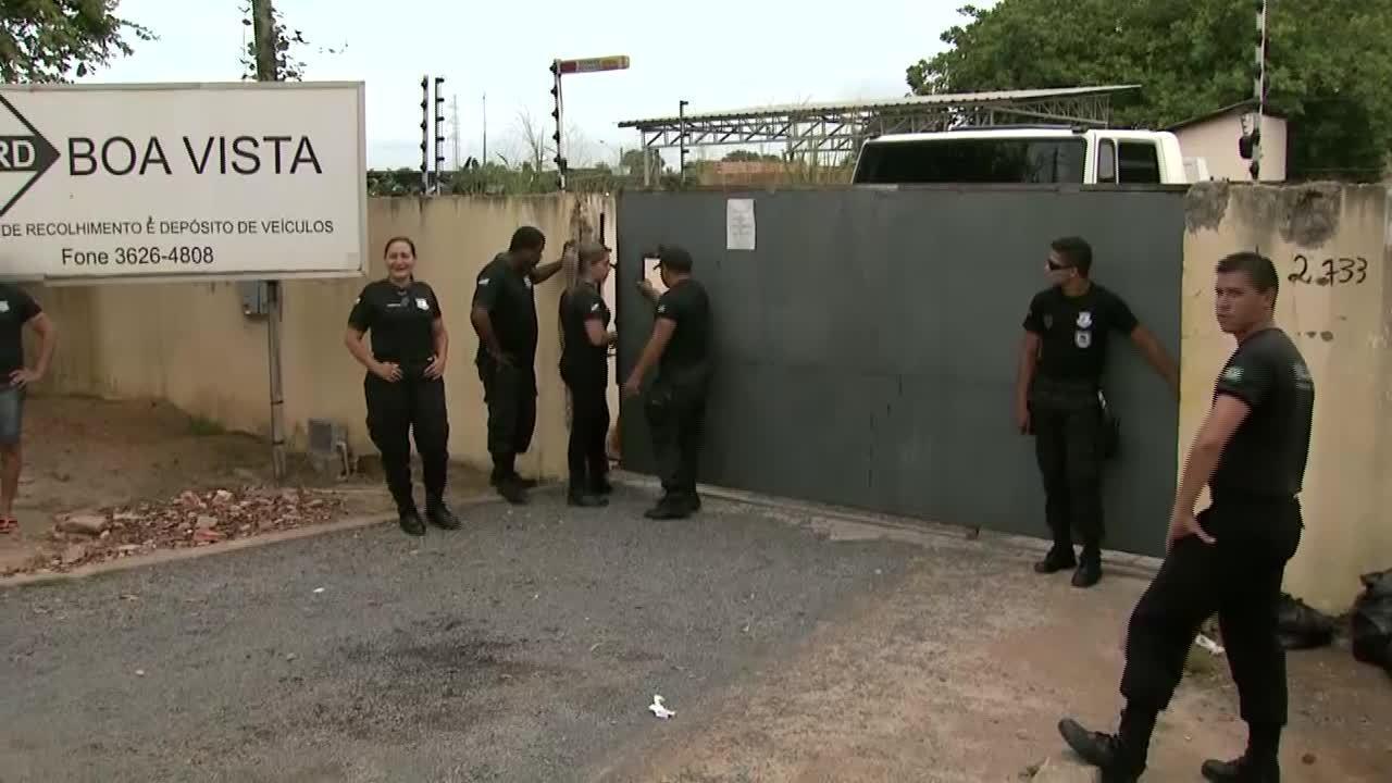 Vigilantes cobram salários atrasados de empresa terceirizada pelo Detran-RR