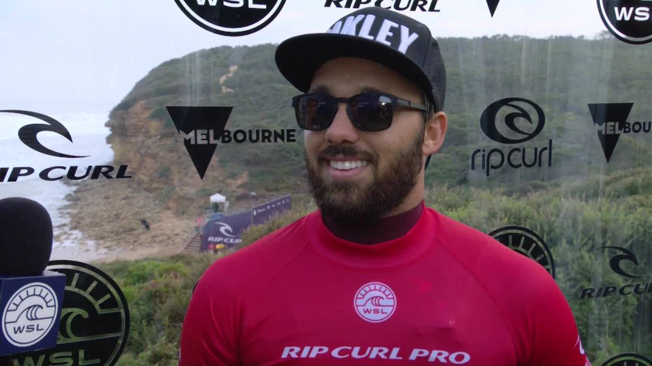 Caio Ibelli comenta vice-campeonato em Bells Beach