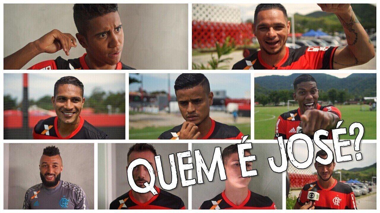 Jogadores do Flamengo encaram desafio de descobrir ''outro nome'' dos companheiros