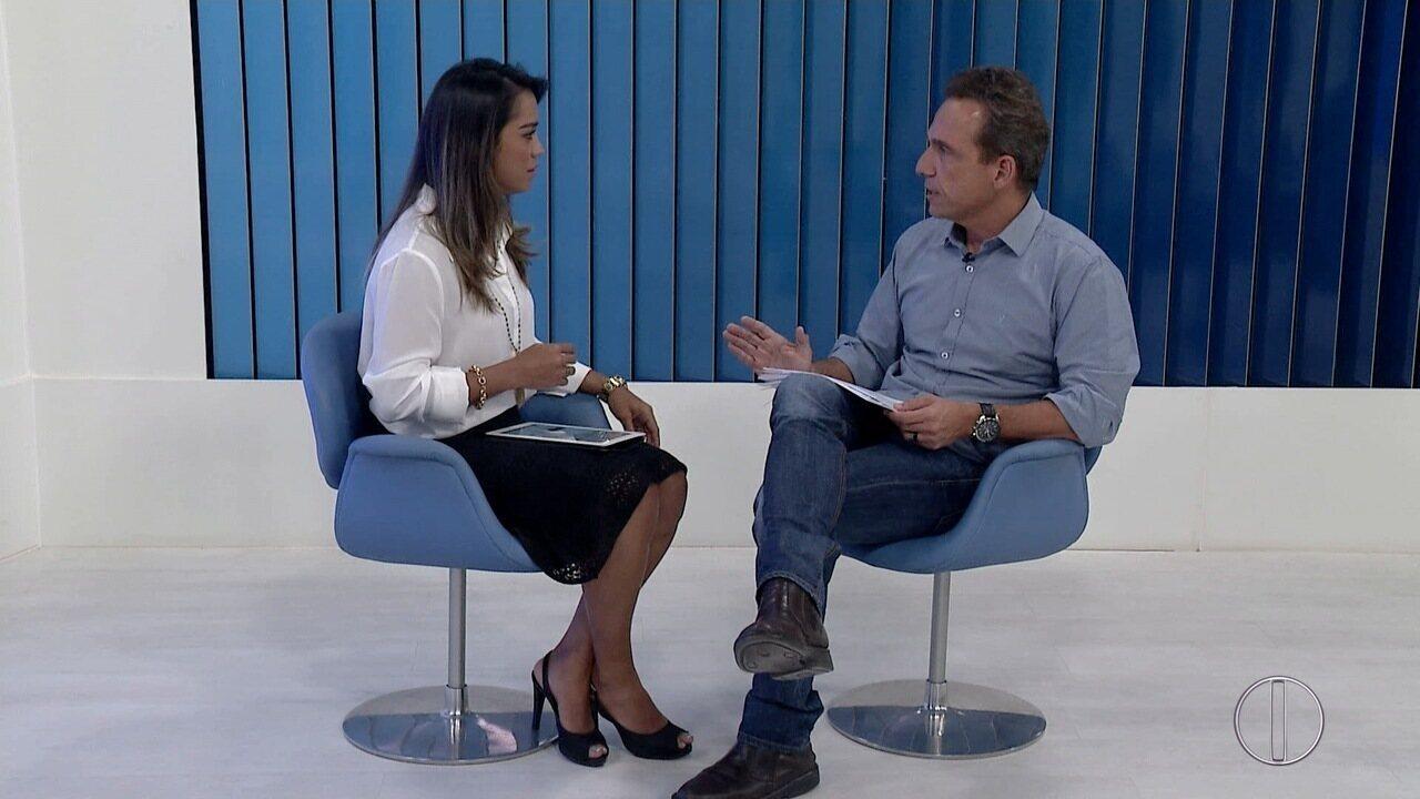 RJ Inter TV 1ª Edição entrevista Doutor Aluízio, prefeito de Macaé