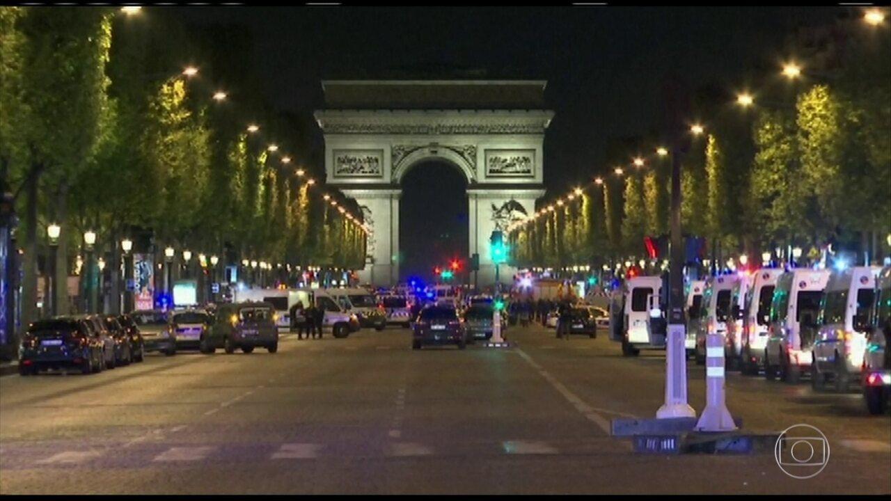 Terrorista que atacou policiais na famosa Champs Elysee é francês