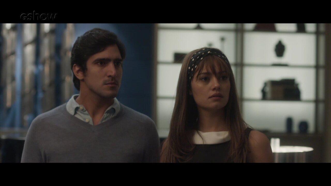 Resumo de 21/4: Renato descobre que Arnaldo é pai de Alice