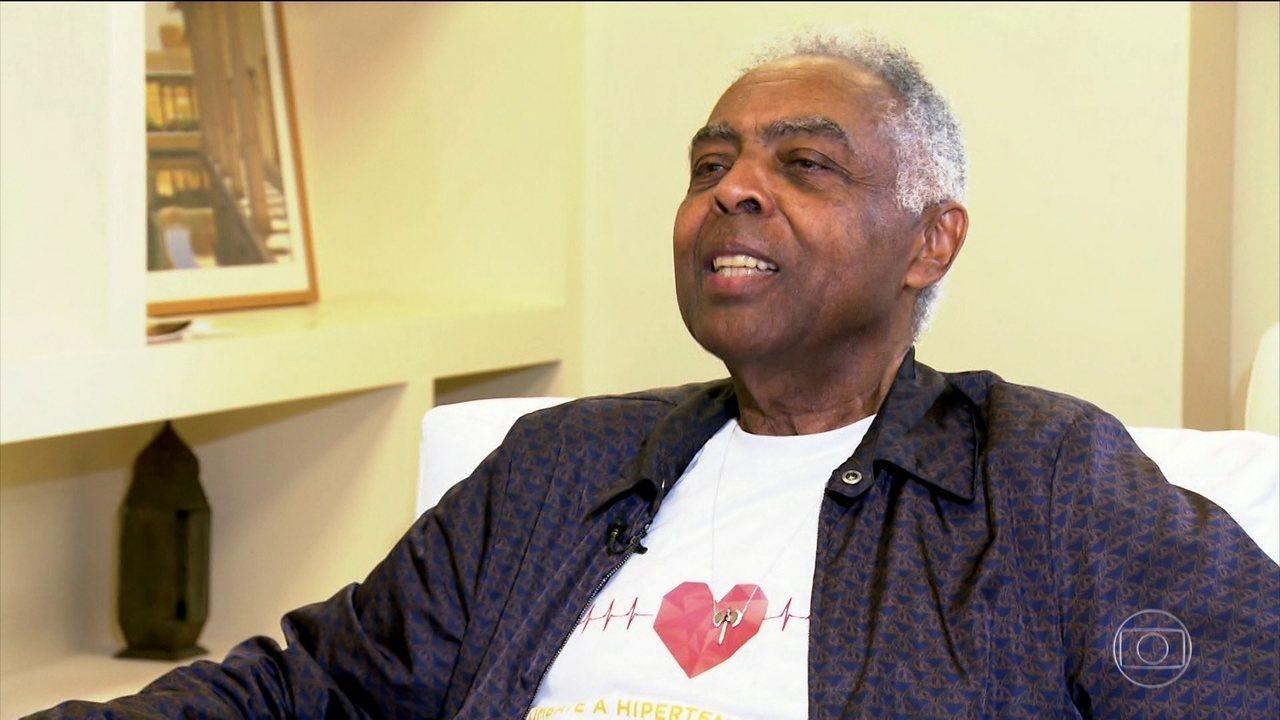 Gilberto Gil é padrinho de campanha que estimula o cuidado com a pressão arterial