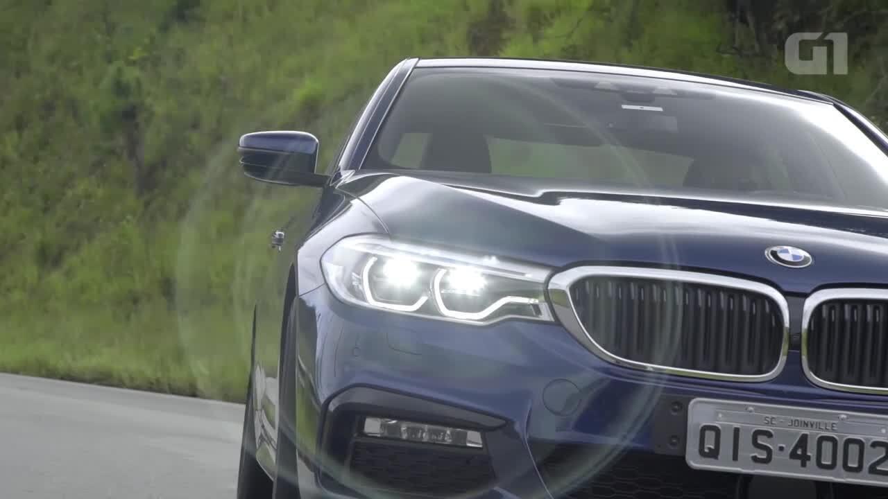 Tradição esportiva do BMW Série 5 ainda fala mais alto que a tecnologia