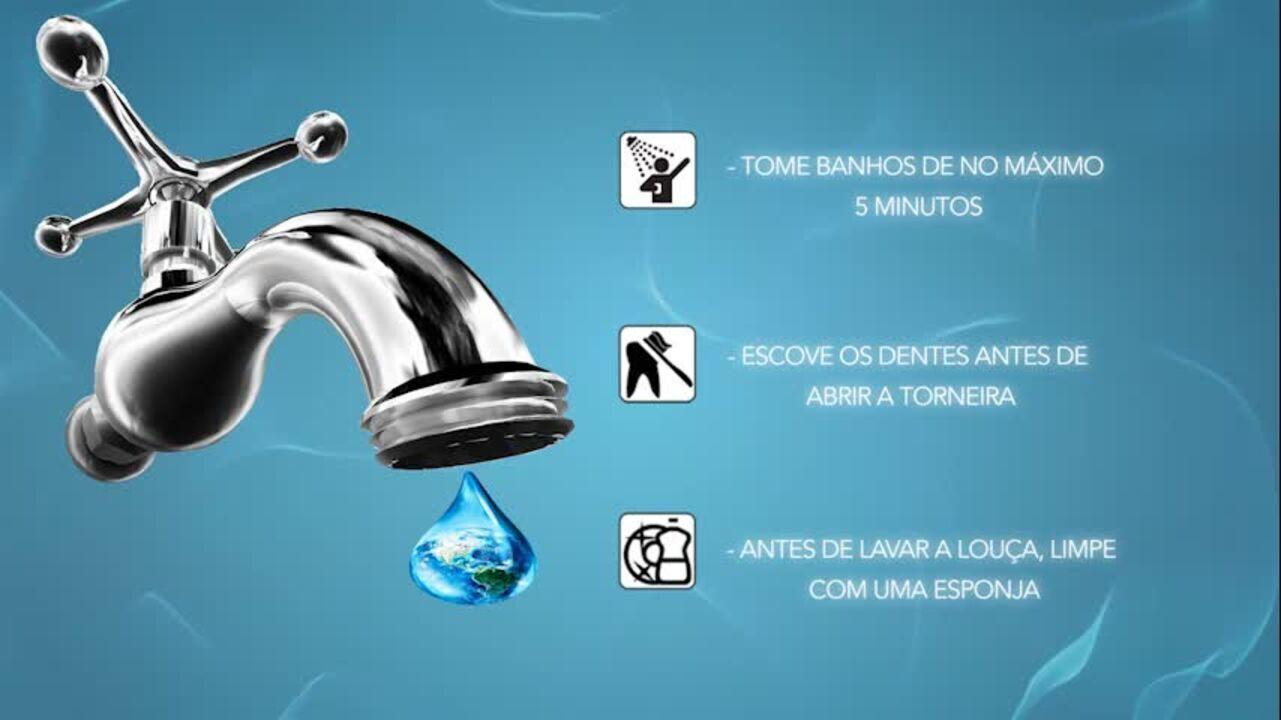 Reduza o tempo do banho