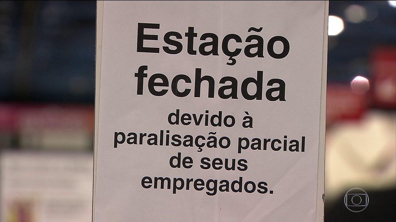 Parte do transporte público para em São Paulo nessa sexta-feira (28)