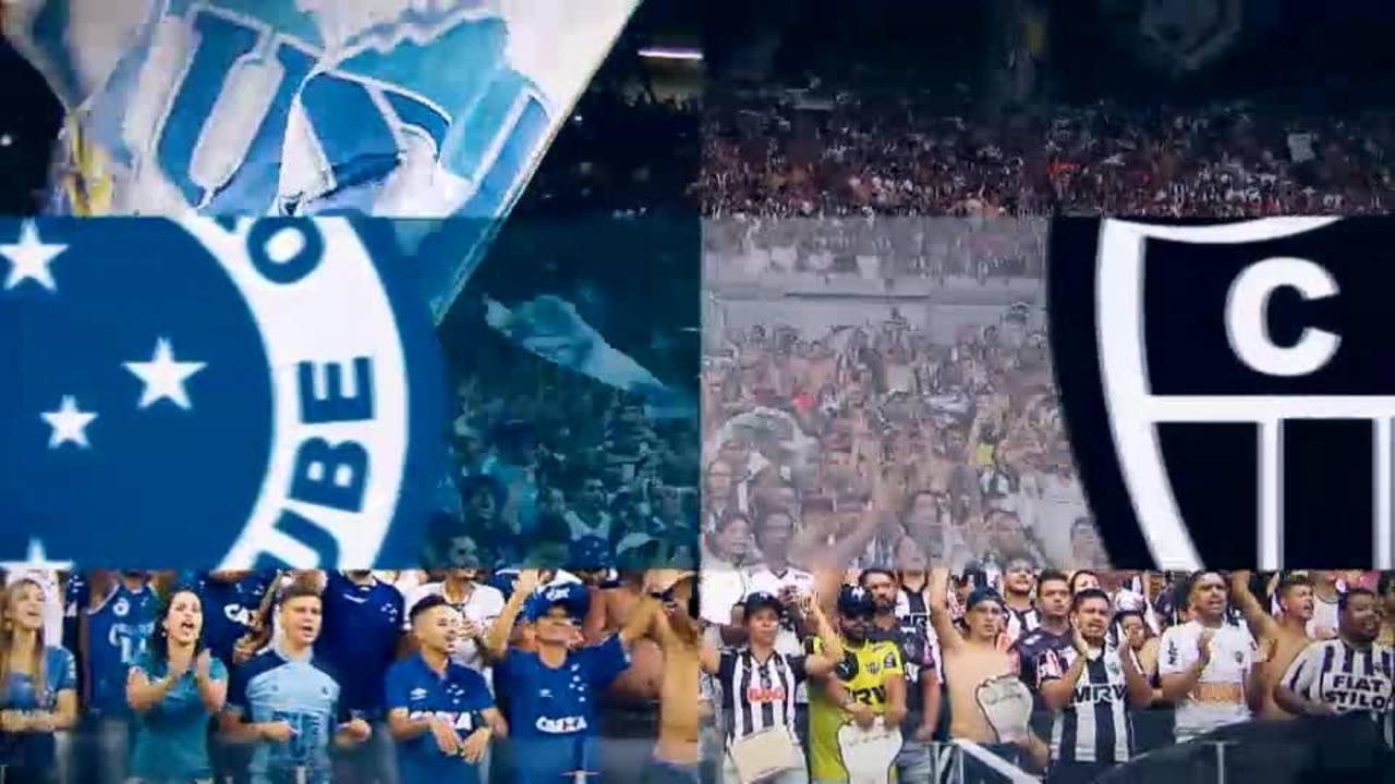 TV Globo Minas transmite clássico entre Cruzeiro e Atlético-MG, no Mineirão