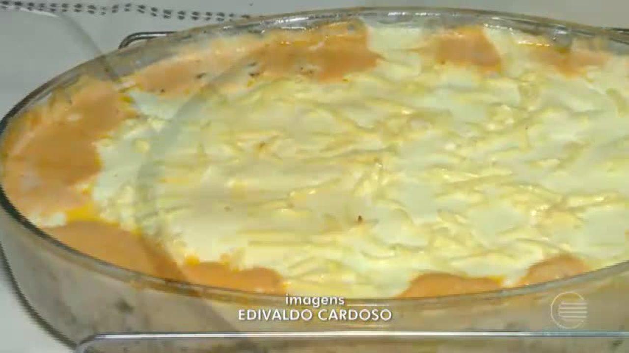 Aprenda uma deliciosa receita de lasanha com pepino e soja