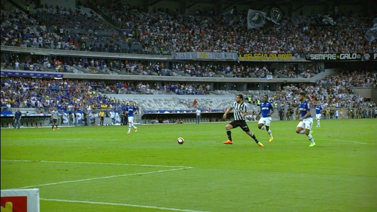 Melhores momentos de Cruzeiro 0 x 0 Atlético-MG pelo primeiro jogo da final do Mineiro