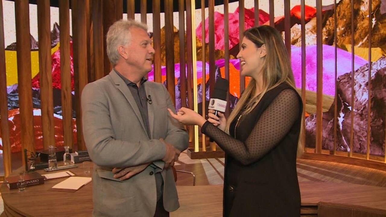 Pedro Bial fala sobre o novo talk show 'Conversa com Bial'