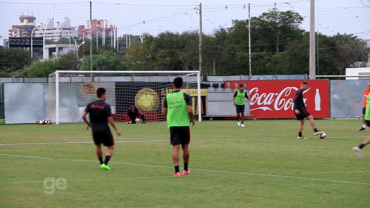 Em último treino aberto antes da final, defesa do Inter segue sendo mistério