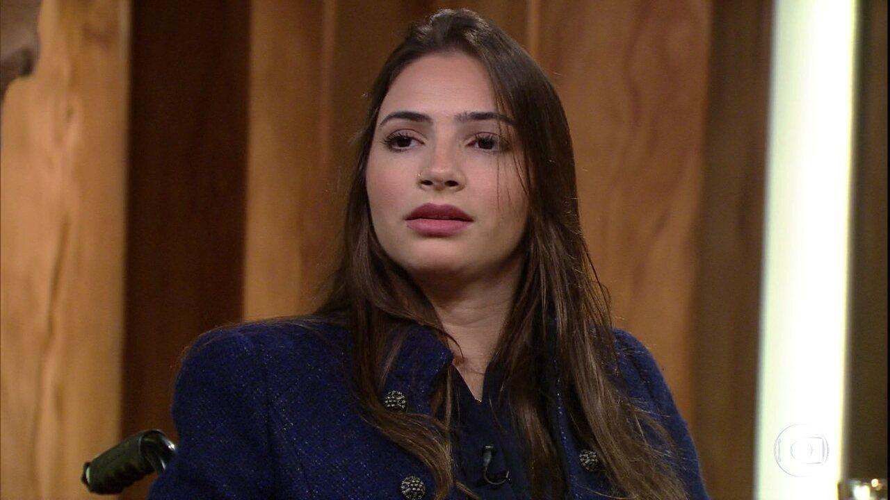 Laís Souza fala sobre seu tratamento